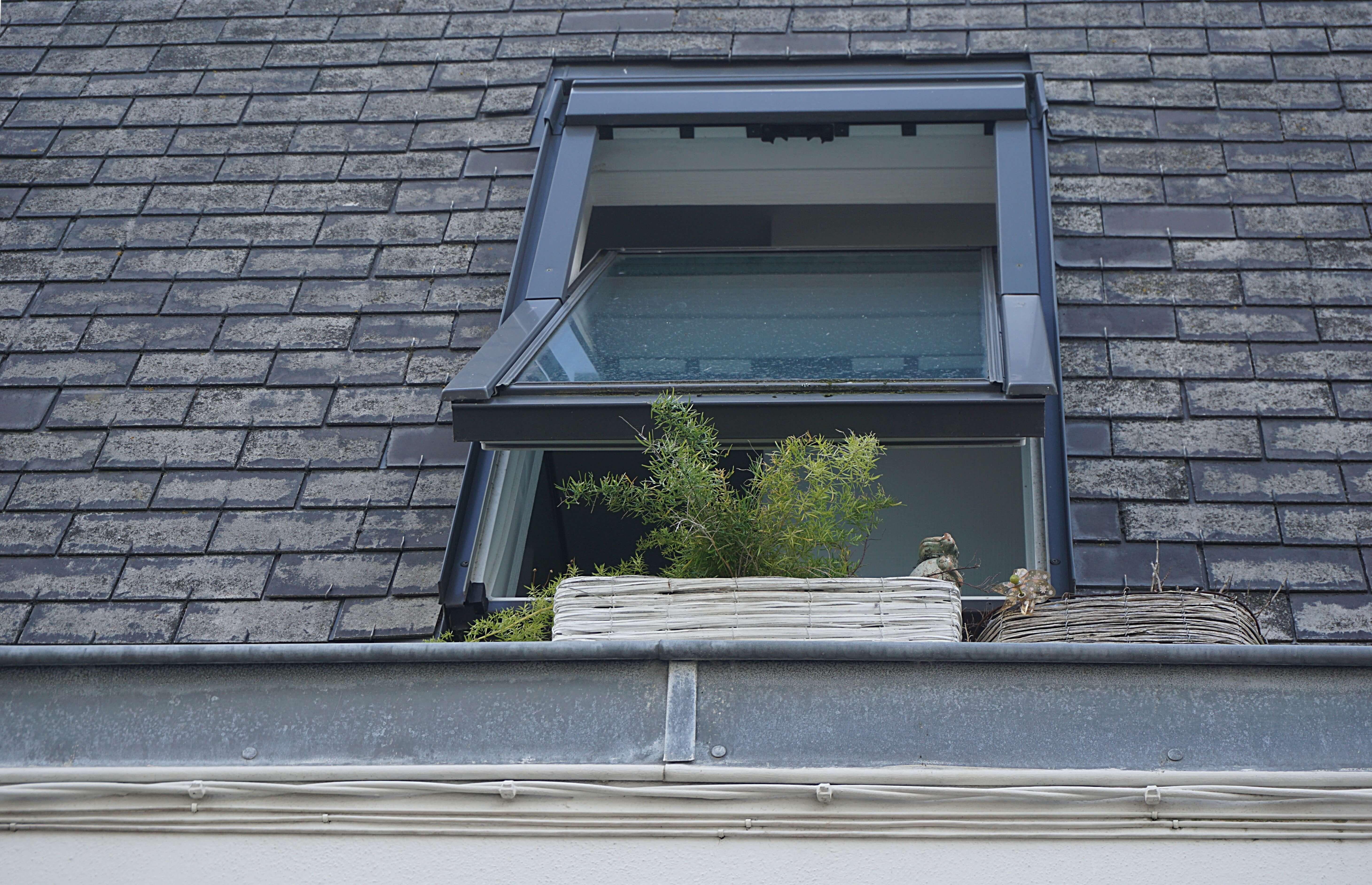 窓の開閉スペース