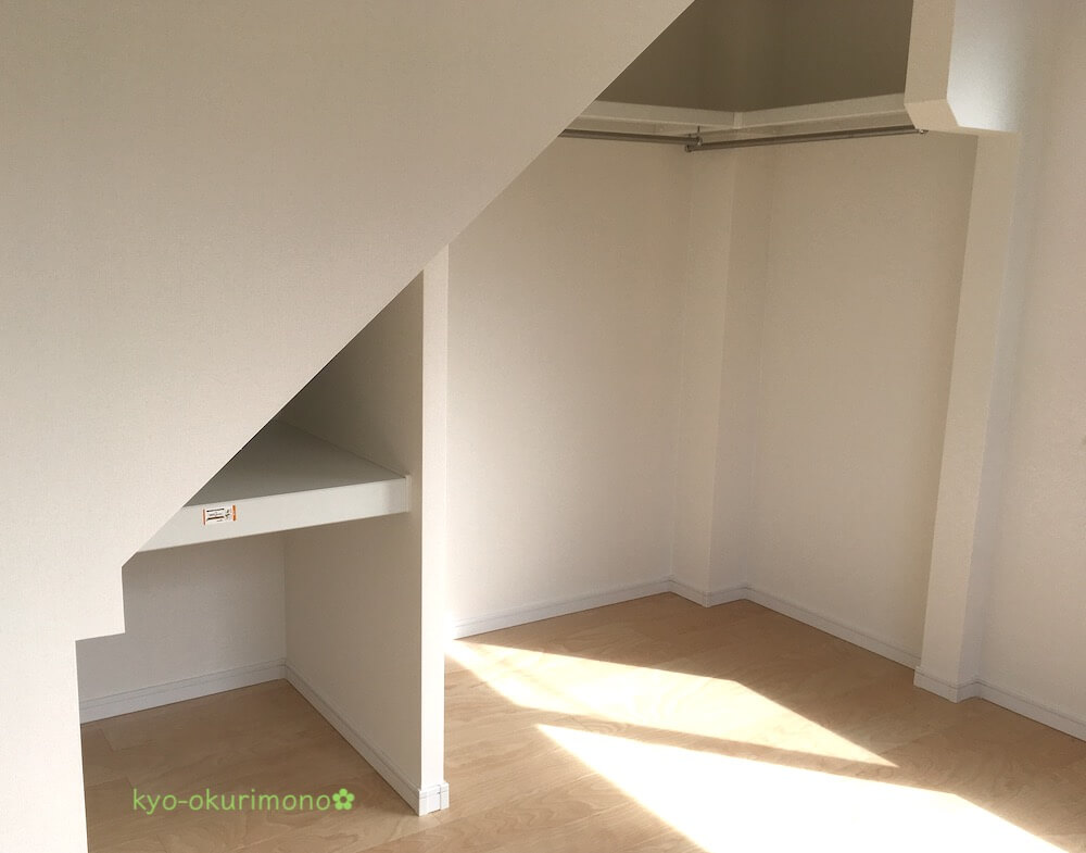 狭小住宅の間取りの工夫・収納に扉をつけない